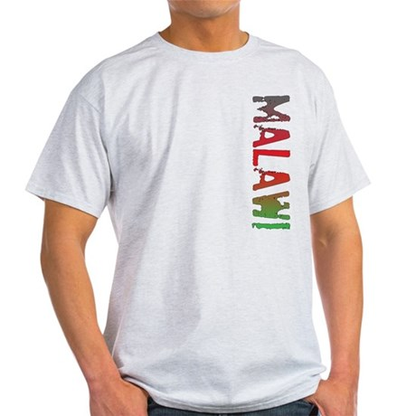 Malawi Stamp Light T-Shirt