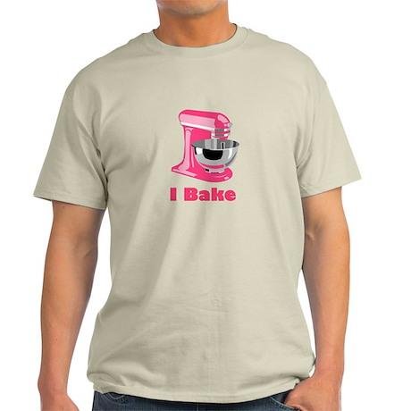 I Bake Pink Light T-Shirt