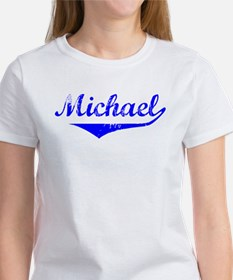 Michael Vintage (Blue) Women's T-Shirt