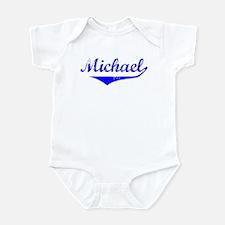 Michael Vintage (Blue) Infant Bodysuit