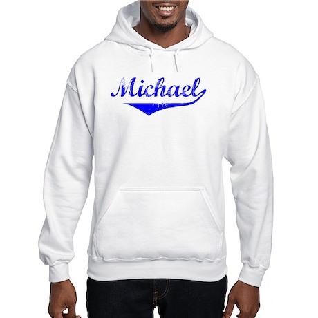 Michael Vintage (Blue) Hooded Sweatshirt