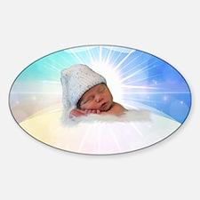 Unique Heaven Sticker (Oval)