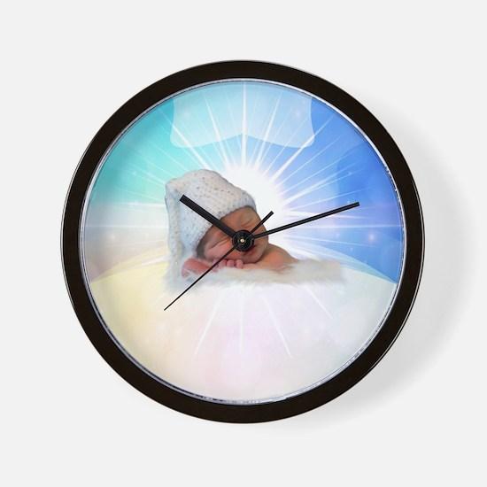 Unique Baby Wall Clock