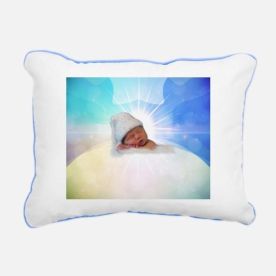 Cute Baby Rectangular Canvas Pillow