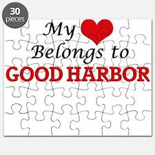 My Heart Belongs to Good Harbor Massachuset Puzzle