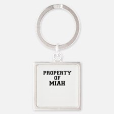 Property of MIAH Keychains