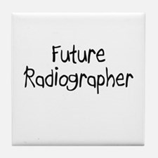 Future Radiographer Tile Coaster
