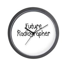 Future Radiographer Wall Clock