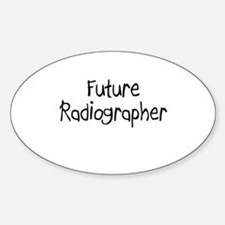 Future Radiographer Oval Decal