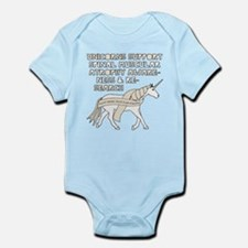 Unicorns Support Spinal Muscular Atrophy Body Suit