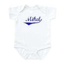 Mikel Vintage (Blue) Infant Bodysuit