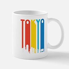 Retro Tokyo Skyline Mugs