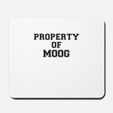 Property of MOOG Mousepad