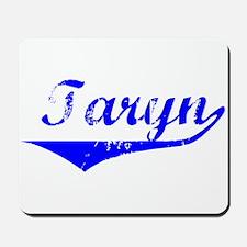 Taryn Vintage (Blue) Mousepad