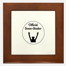 Official Scene-Stealer Framed Tile