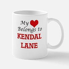 My Heart Belongs to Kendal Lane Massachusetts Mugs