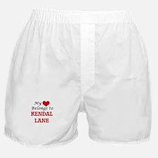My Heart Belongs to Kendal Lane Massa Boxer Shorts