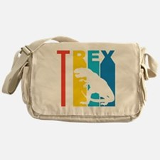 Retro T Rex Messenger Bag