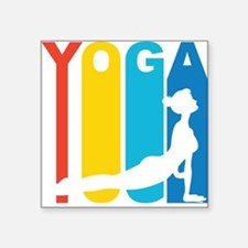 Retro Yoga Sticker