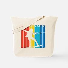 Retro Wakeboard Tote Bag