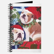 Funny Cute bulldog Journal