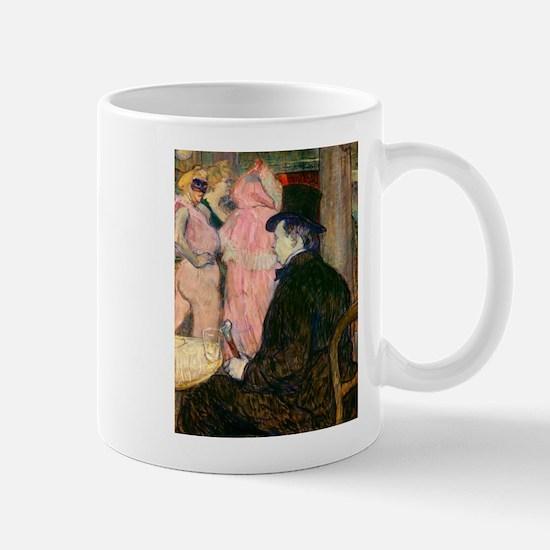 Maxime Dethomas by Henri de Toulouse-Lautrec Mugs