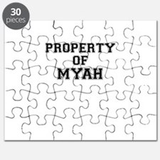 Property of MYAH Puzzle
