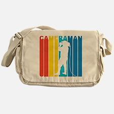 Retro Cameraman Messenger Bag
