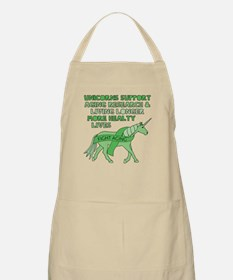 Unicorns Support Ageing Research & Living Lo Apron