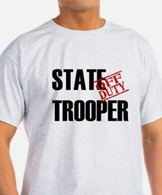 Off Duty State Trooper T-Shirt