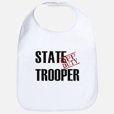 Off Duty State Trooper Bib