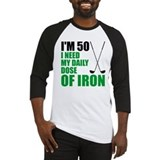 50th birthday golf men Baseball Tee