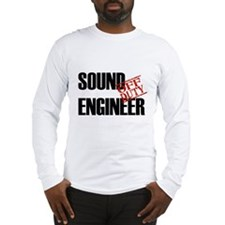 Off Duty Sound Engineer Long Sleeve T-Shirt