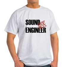 Off Duty Sound Engineer T-Shirt