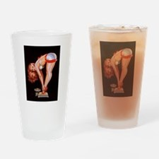 CHRISTMAS IS HOT Drinking Glass