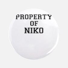 Property of NIKO Button