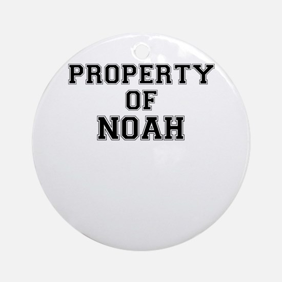 Property of NOAH Round Ornament
