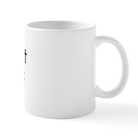 I can't put my arms down! Mug