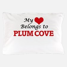 My Heart Belongs to Plum Cove Massachu Pillow Case