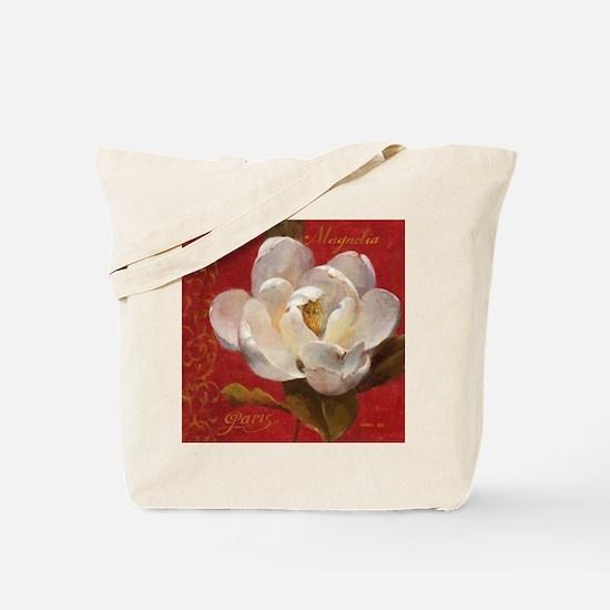 CHRISTMAS MAGNOLIA Tote Bag