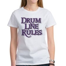 Drum Line Rules Tee
