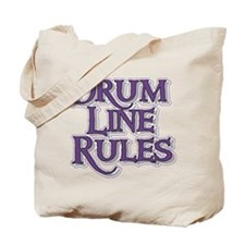 Drum Line Rules Tote Bag