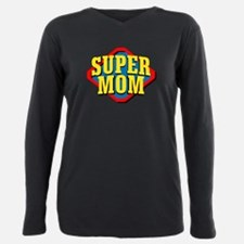 Unique Super hero Plus Size Long Sleeve Tee