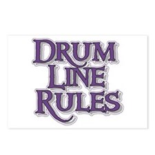 Drum Line Rules Postcards (Package of 8)