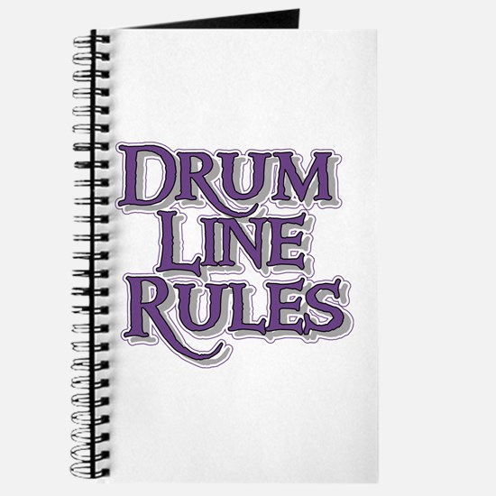 Drum Line Rules Journal