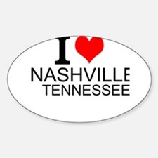 I Love Nashville, Tennessee Decal