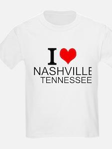 I Love Nashville, Tennessee T-Shirt