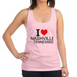 Nashville tennessee Womens Racerback Tanktop