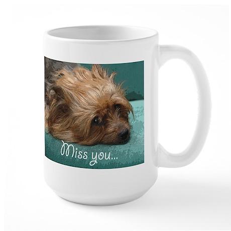 Silky Terrier Dog - Large Mug Mugs