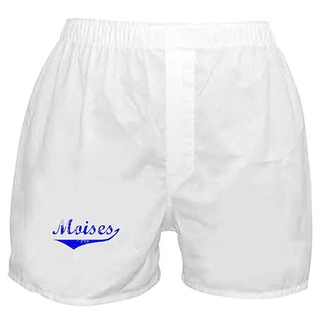 Moises Vintage (Blue) Boxer Shorts